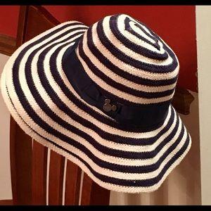 Disney Parks Authentic Striped Hat Adult Size